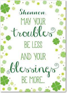 Joyful Blessings - St Patricks Day Cards in Shamrock | Magnolia Press