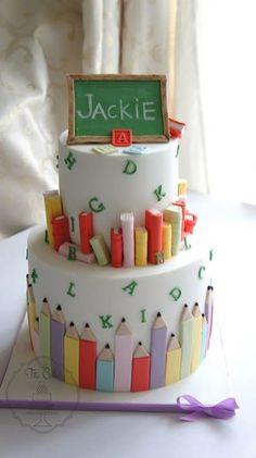 Cake Art School : Cakes - Art, School & Graduation on Pinterest School ...
