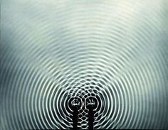 Berenice Abbott. Interference Pattern. ca 1960