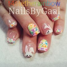 Furry Nails Art The Latest Nail Trend That Compliments Insanity – Stylendesigns Easter Nail Designs, Holiday Nail Designs, Easter Nail Art, Nail Designs Spring, Cool Nail Designs, Holiday Nails, Boxing Day, Nancy Nails, Colorful Nails