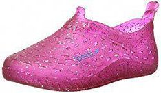 Speedo Exsqueeze Me Jelly Glitter Water Shoes (Toddler) Rothys Shoes, Kid Shoes, Girls Shoes, Flat Shoes, Water Shoes For Kids, Plastic Shoes, Fitness Watch, Kids Swimming