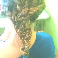 Hattie did my hair!!:)