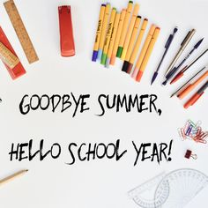 We sure are sad to see summer go, but we also secretly love buying new school…