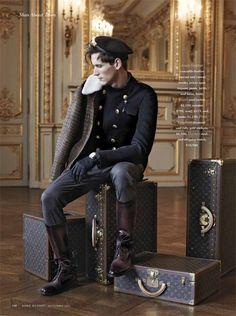Bastiaan Ninaber Embraces Parisian Elegance for Robb Report image Robb Report 10 New Fashion, Trendy Fashion, Fashion Tips, Christopher Campbell, Steampunk Men, Steampunk Fashion Men, Man About Town, Military Fashion, Dapper