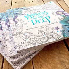 Mysteries Of The Deep: An Activity & Colouring Book To Dive Into! Dive into a world of mysteries, monsters and mermaids.