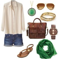 Love the color combo ... So earthy