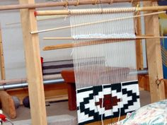 This Navajo Rug Loom Is Just A Small Piece Of A Vast History Leading To Rugs