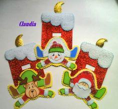 lindas manualidades: Foamy navideño