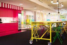 """Lavorare in un videogioco: """"un regno"""" di colori per gli uffici di Candy Crush"""