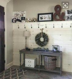+ 24 Rustic House Interior Diy Farmhouse Decor 66 – - All For Remodeling İdeas Country Interior Design, Rustic House Design, Diy Home Decor, Room Decor, Wall Decor, Wall Art, Wall Collage, Diy Wall, Sweet Home