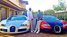 Here are two of the Bugatti Veyrons, in case you didn't notice them in the previous slide. - Instagram