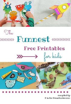 Some of the best free printables for kids the internet has to offer!: Some of the best free printables for kids the internet has to offer!