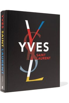 Abrams - Yves Saint Laurent By Farid Chenoune And Florence Muller Handcover Book - Black - one size