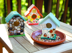 Bird House Kits and Decorations | Porter's Craft & Frame