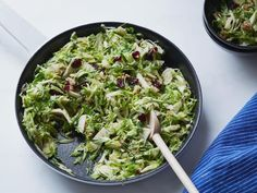 Get Crunchy Sweet Brussels Sprout Salad Recipe from Food Network