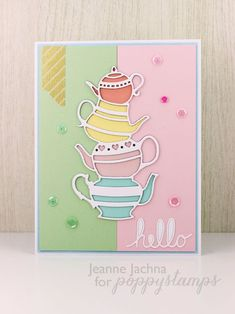 Spring Coffee Lovers Blog Hopby the Poppystamps Design Team
