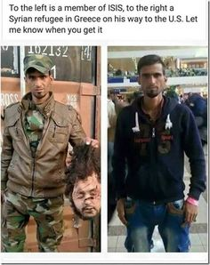 ISIS killer entering USA as a Syrian Refugee from Greece
