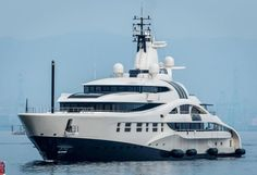 Blohm + Voss superyacht Palladium has been recently spotted in Gibraltar.With an original design by Michael Leach, former Project Orca is thought to be owned by Mikhail Prokhorov, Russian oligarch and owner of the Brooklyn Nets, who is shaping the yachting industry nowadays.Palladium is a 95.15m...