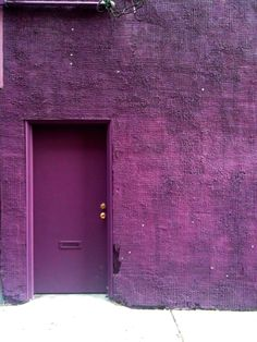 Radiant Orchid facades #coloroftheyear