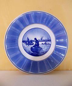 Vintage Deep Blue Langelinie Royal Copenhagen by artdecogirl01, $14.95