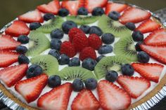 Cream Cheese Fruit Pie. I just made this and it is amazing!! And I don't even usually like cream cheese. -Heather Bbb