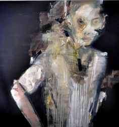 "Saatchi Art Artist Irene Van Den Bos; Painting, ""About a Boy /Distorted"" #art"