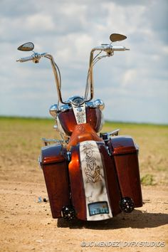 Stressed 2003 Road King | Custom | Cutting Edge Illusions