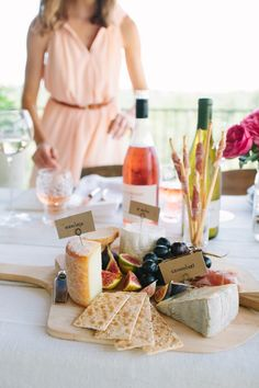 Wine & Cheese Tasting Party with La Crema + Camille Styles