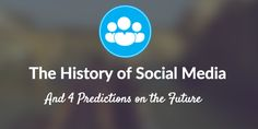 The Unabridged History of Social Media (The Stuff You Probably Didn't Already Know) and 4 Predictions on its Future