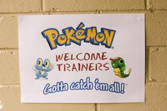 see website for some great Pokemon party ideas