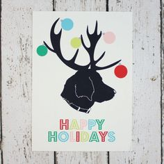 The Best Modern Holiday Cards (Without Photos)   Apartment Therapy