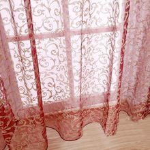 Hot Elegant and Romantic Curtain Voile Window Curtain for Door Window Fashion Window Screening Pastoral Curtains Bedroom Decor(China (Mainland)) Window Curtains, Window Screens, Romantic Curtains, Windows And Doors, Bedroom Decor, Buy Curtains, Curtain For Door Window, Window Styles, Curtains
