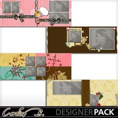 Digital Scrapbooking Kits | Cool Chic FB Covers-(carolnb) | Babies, Family, Friends, Girls, Kid Fun, Love | MyMemories