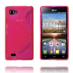 Transparent S-Line (Rosa) LG Optimus 4X HD Deksel