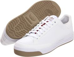 adidas rod laver leather sneakers