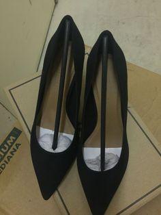 d0c9870c07a Asos black suede high heels pumps US Size 6 UK Size 4  fashion  clothing