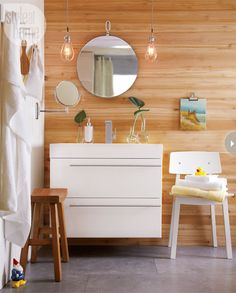How High Do You Hang Vanity Lights : 1000+ images about powder bath on Pinterest Glass vials, Vanities and Bath light