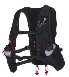 Race-Ultra-Vest Dit lichtgewicht vest is ideaal voor de ultra loper die voldoende water met zich mee moet dragen. Het bevat een 2 liter waterreservoir en tevens plek voor 2 flessen van 500ml. Verder nog genoeg ruimte om wat noodzakelijke spullen op te bergen en is voorzien van een fluitje.