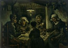 The Potato Eaters (1885), Paintings by Vincent van Gogh