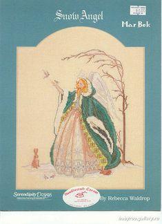 Snow Angel - 1/4 Solo Patrones Punto Cruz (pág. 436) | Aprender manualidades es facilisimo.com