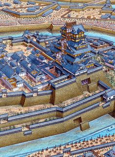 Castillo de Osaka - 1614
