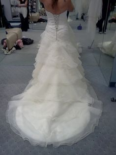 The back of my dress! Alfred Angelo 2123