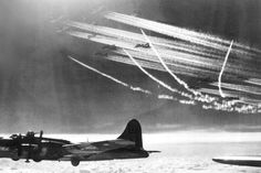 Boeing B-17G of the 95th Bomb Group Raid in 1944.