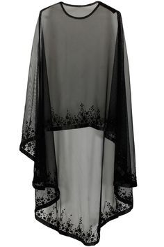 Bhaavya Bhatnagar presents Black floral beads embroidered cape available only at Pernia's Pop Up Shop. Bridal capelet Bridal cover up Lace cover up by HanakinLondon Not departs but quite close to the idea. Cape/ kind of shrug Discover thousands of images Mode Abaya, Mode Hijab, Cape Dress, New Dress, Dress Prom, Chiffon Dress, Chiffon Blouses, Abaya Fashion, Fashion Dresses