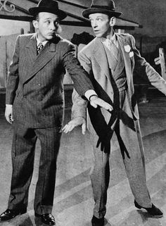 Bing Crosby & Fred Astaire - a couple of song and dance men