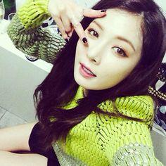 #Hyuna #4MINUTE #selca #cute