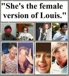 Eleanor calder and louis tomlinson | Elounor | One Direction. @Abby Carlson
