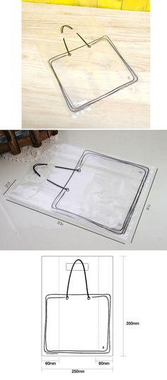 Illust Transparent Plastic Bag set (20 bags)