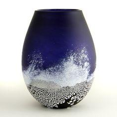 Stormy Sea Vase - Malcolm Sutcliffe
