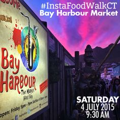 Saturday we have our first #InstaFoodWalk in association with @instaeatscapetown, @igerssouthafrica, @igerscapetown and @instax_sa. We'll meet at the entrance of the Bay Harbour Market, Hout Bay at 9:30am (look for the CapeTownMagazine.com banner). We want to see how you capture the incredible food, market vibe, vendors and your own #FoodBiteSelfie. There will be prizes from @insta.lens, @nifty250_, @zangchocolate, @vagabondcpt, @earthfirepizza and  @instax_sa. captured by @hugo_prinsloo